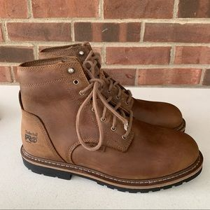 """Timberland Pro Millworks 6"""" waterproof work boots"""